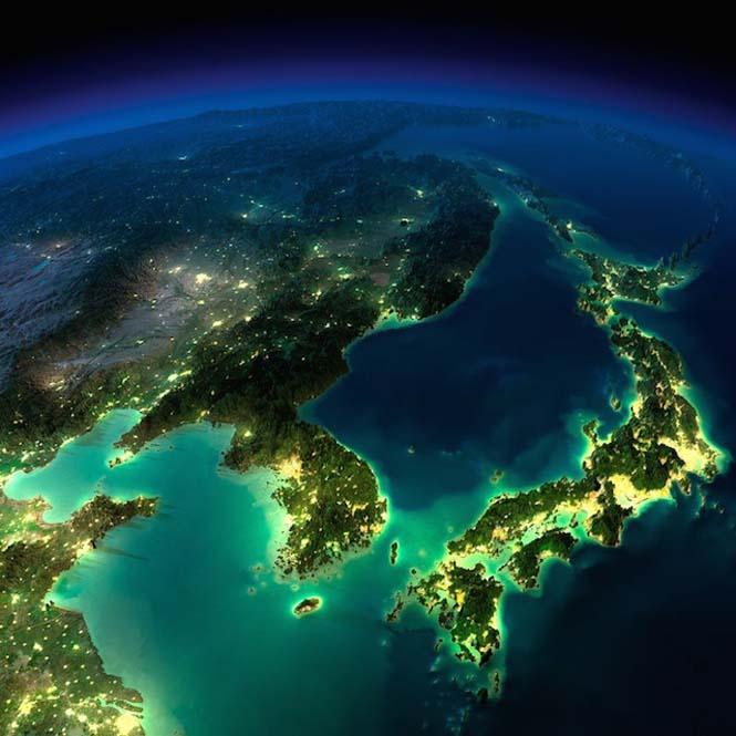 Εκπληκτικές νυχτερινές εικόνες της Γης (8)