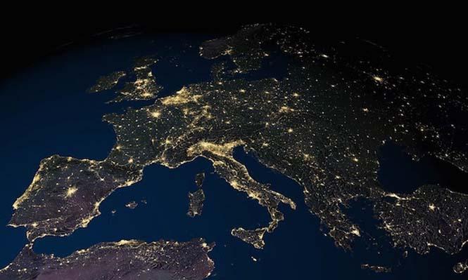 Εκπληκτικές νυχτερινές εικόνες της Γης (9)