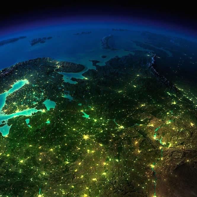 Εκπληκτικές νυχτερινές εικόνες της Γης (17)