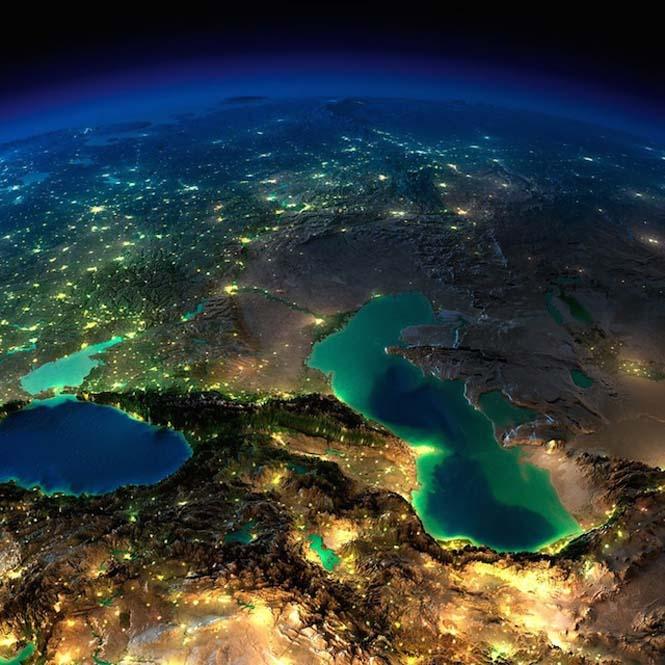 Εκπληκτικές νυχτερινές εικόνες της Γης (18)