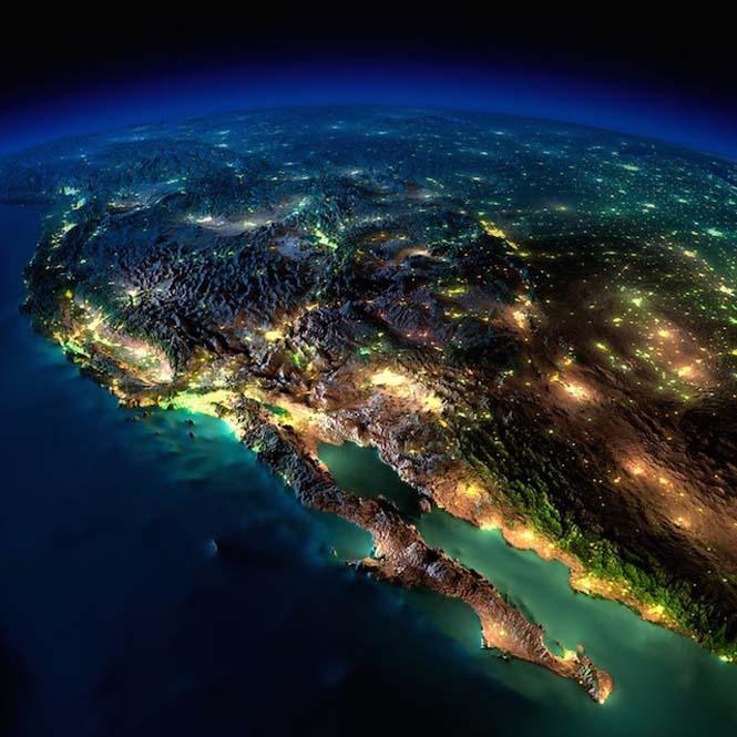 Εκπληκτικές νυχτερινές εικόνες της Γης (20)