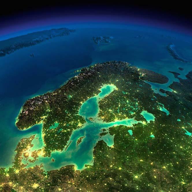 Εκπληκτικές νυχτερινές εικόνες της Γης (21)
