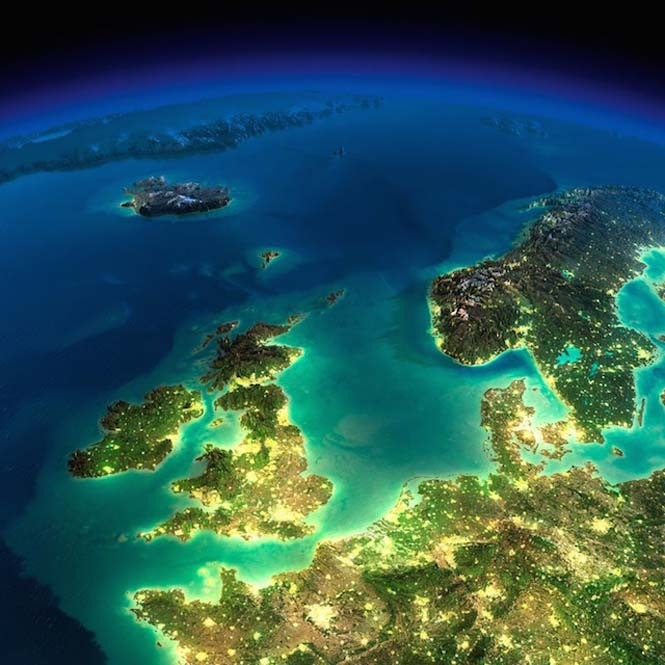 Εκπληκτικές νυχτερινές εικόνες της Γης (22)