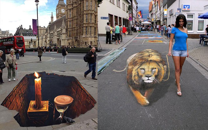 3D τέχνη του δρόμου από τον Nikolaj Arndt (1)