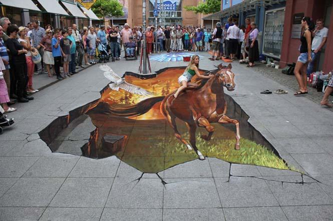 3D τέχνη του δρόμου από τον Nikolaj Arndt (2)