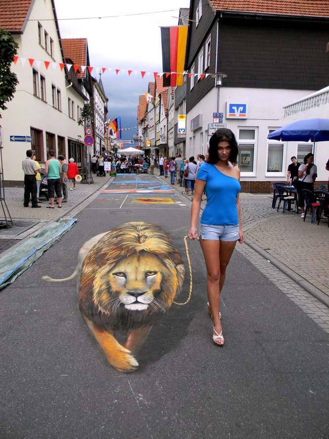 3D τέχνη του δρόμου από τον Nikolaj Arndt (4)