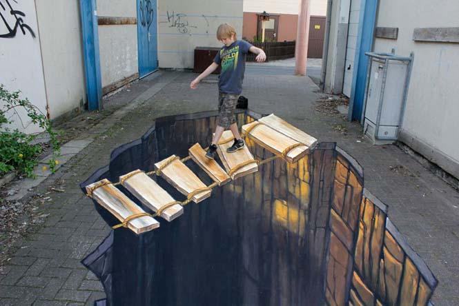 3D τέχνη του δρόμου από τον Nikolaj Arndt (7)