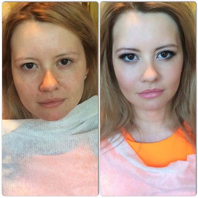 Γυναίκες να μεταμορφώνονται με το μακιγιάζ (3)
