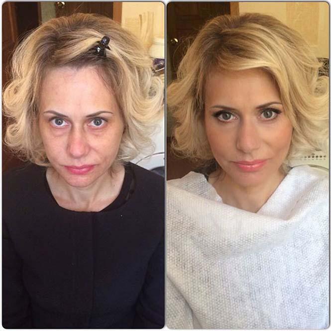 Γυναίκες να μεταμορφώνονται με το μακιγιάζ (4)