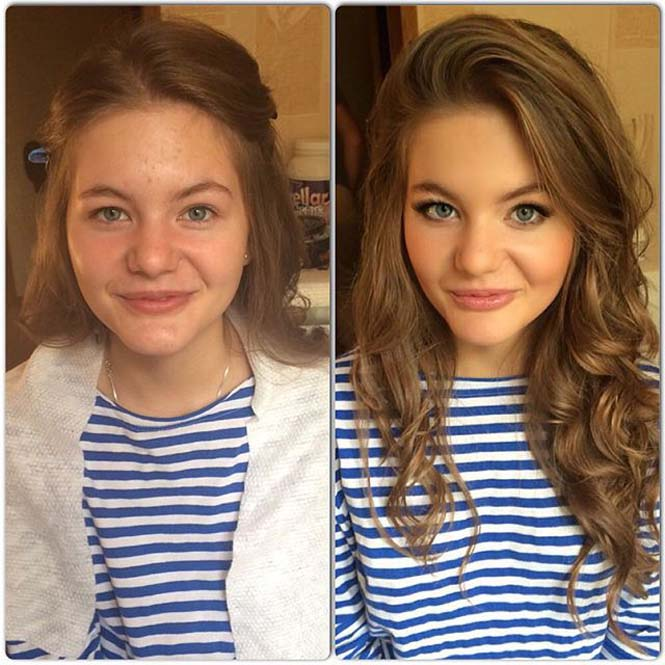 Γυναίκες να μεταμορφώνονται με το μακιγιάζ (5)