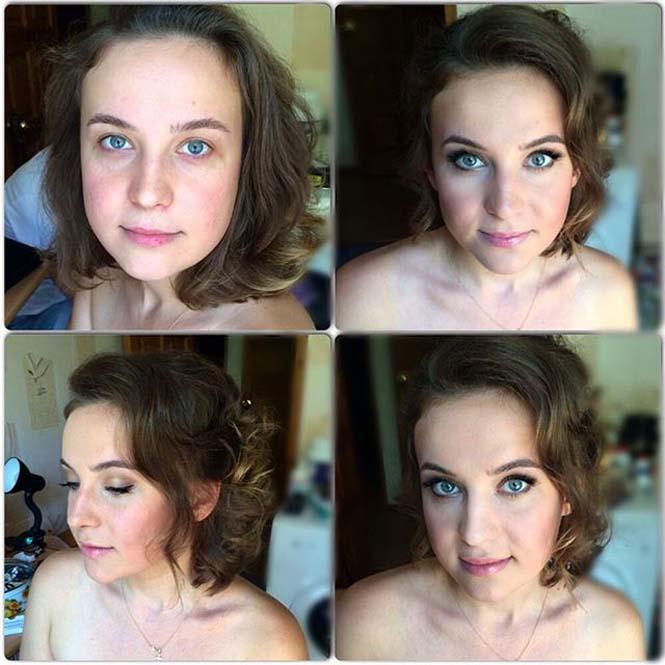 Γυναίκες να μεταμορφώνονται με το μακιγιάζ (7)