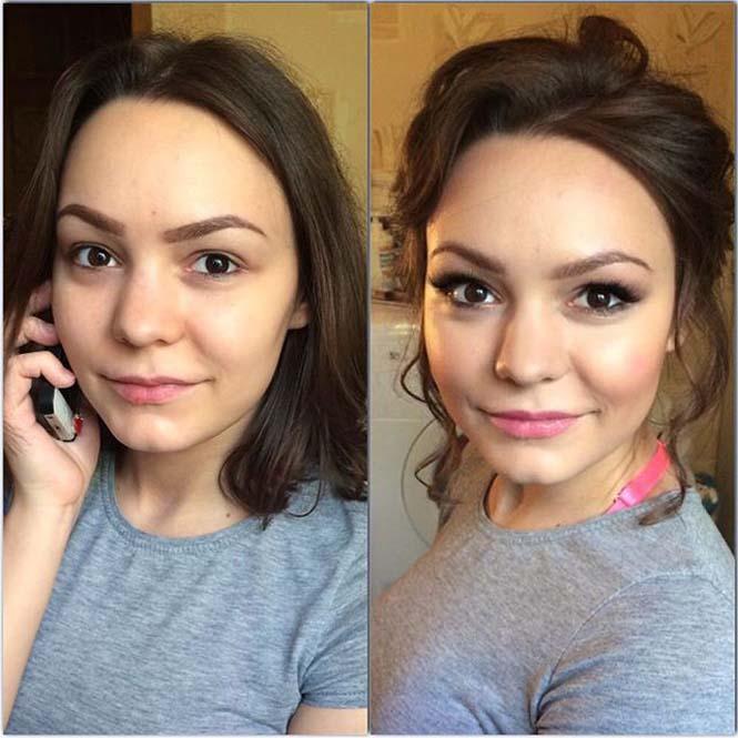 Γυναίκες να μεταμορφώνονται με το μακιγιάζ (9)