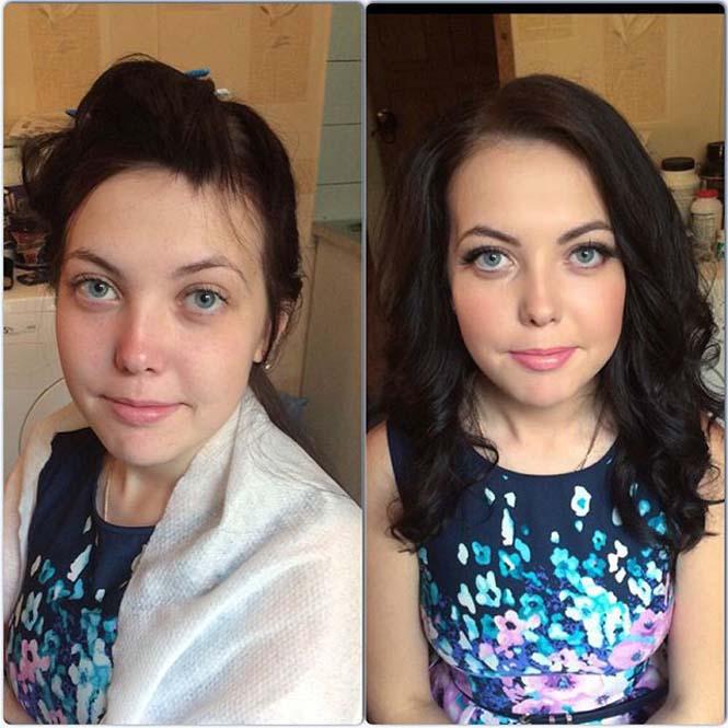 Γυναίκες να μεταμορφώνονται με το μακιγιάζ (10)