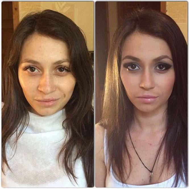 Γυναίκες να μεταμορφώνονται με το μακιγιάζ (11)