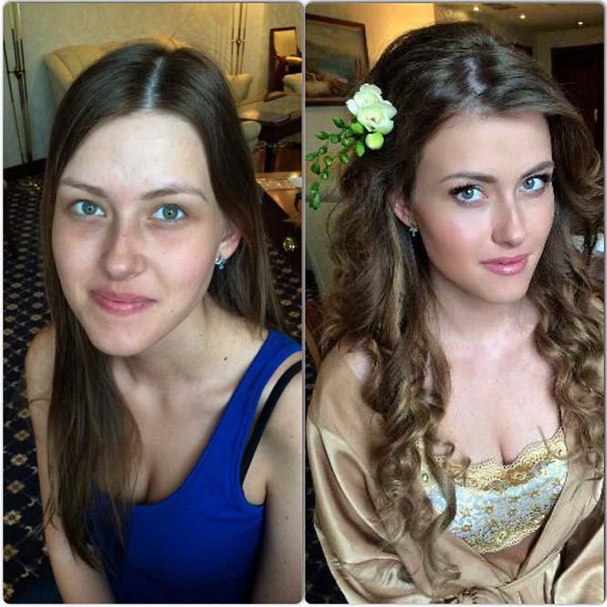 Γυναίκες να μεταμορφώνονται με το μακιγιάζ (13)