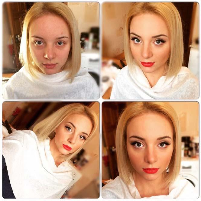 Γυναίκες να μεταμορφώνονται με το μακιγιάζ (15)