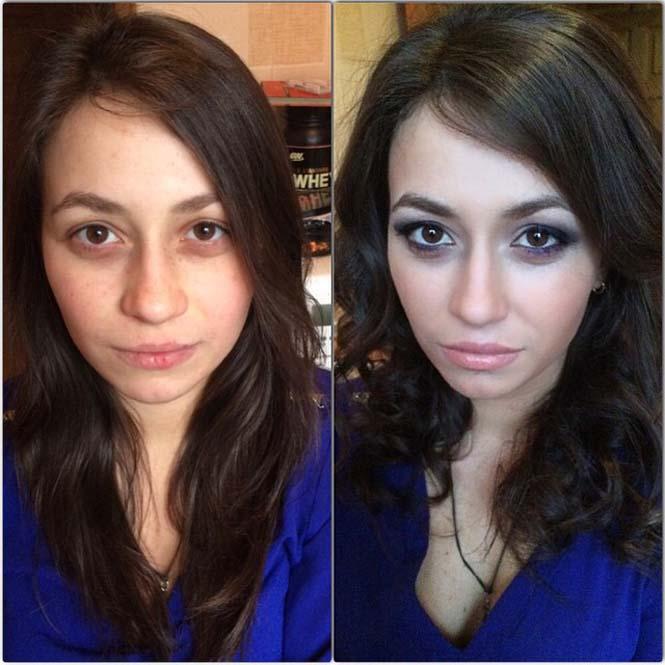 Γυναίκες να μεταμορφώνονται με το μακιγιάζ (16)