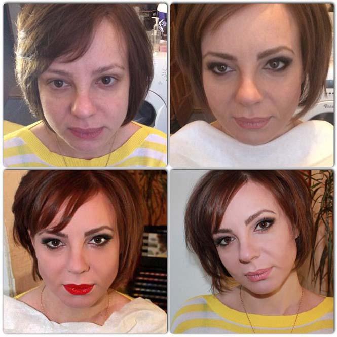 Γυναίκες να μεταμορφώνονται με το μακιγιάζ (17)