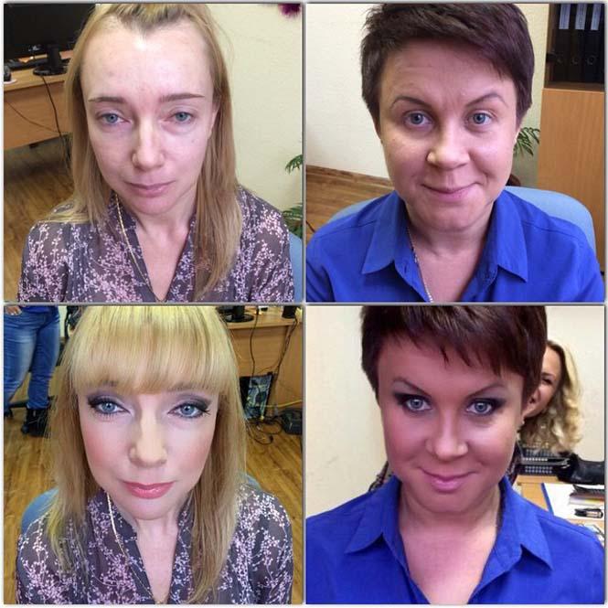 Γυναίκες να μεταμορφώνονται με το μακιγιάζ (18)
