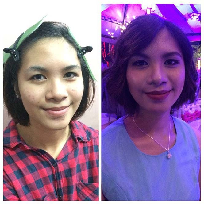 Γυναίκες να μεταμορφώνονται με το μακιγιάζ (19)