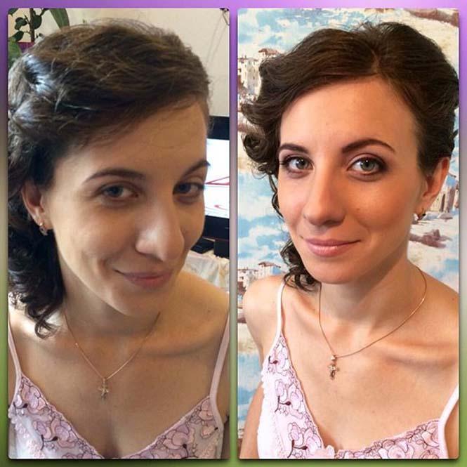 Γυναίκες να μεταμορφώνονται με το μακιγιάζ (20)
