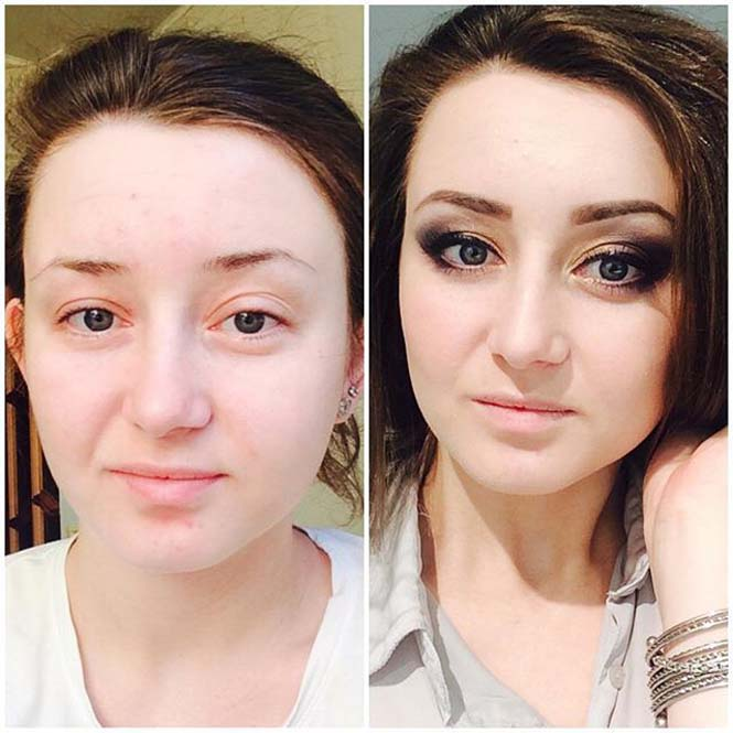 Γυναίκες να μεταμορφώνονται με το μακιγιάζ (21)