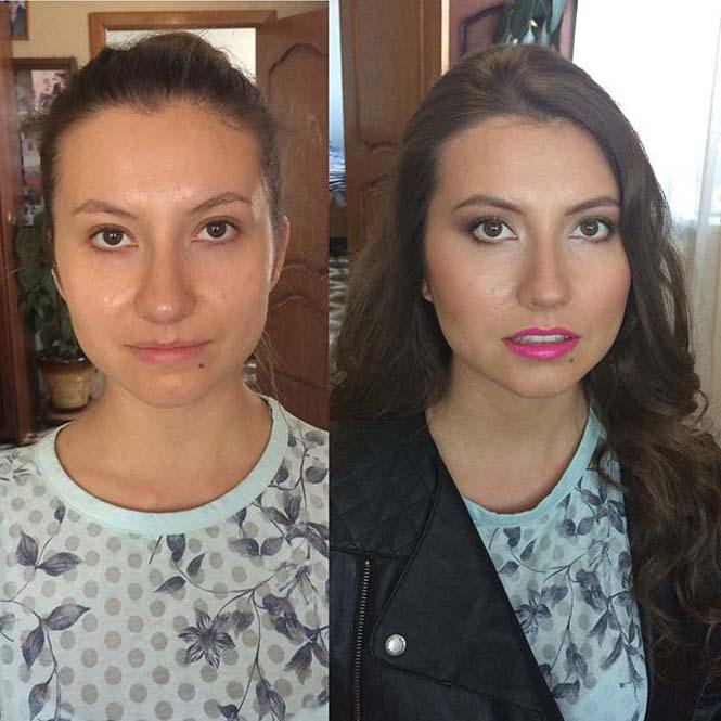 Γυναίκες να μεταμορφώνονται με το μακιγιάζ (22)