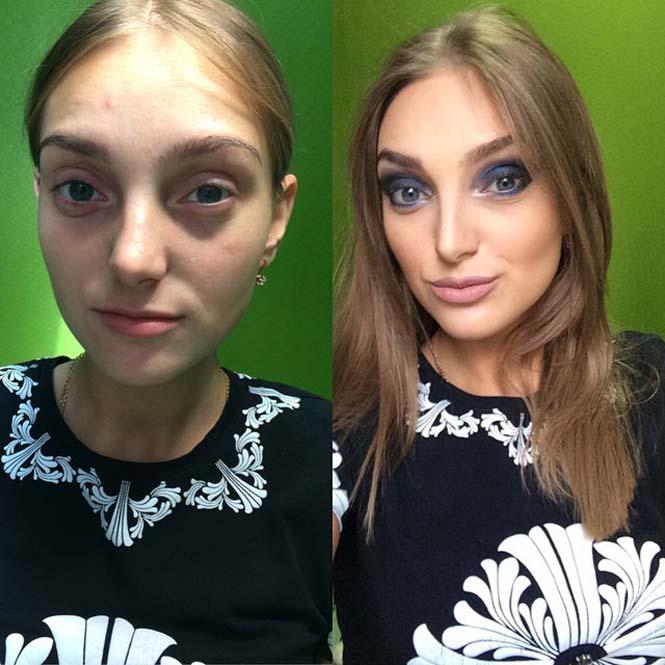 Γυναίκες να μεταμορφώνονται με το μακιγιάζ (24)