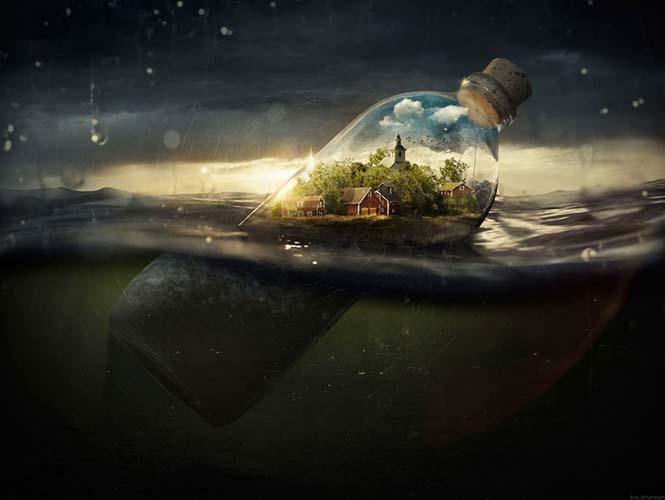 Ο μετρ του Photoshop Erik Johannsson αποκαλύπτει πως δημιουργεί τις επικές εικόνες του (2)