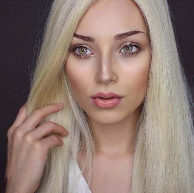 Μια όμορφη γυναίκα γίνεται αγνώριστη με 6 εντελώς διαφορετικά look (2)
