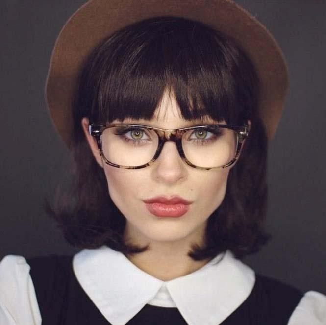 Μια όμορφη γυναίκα γίνεται αγνώριστη με 6 εντελώς διαφορετικά look (3)