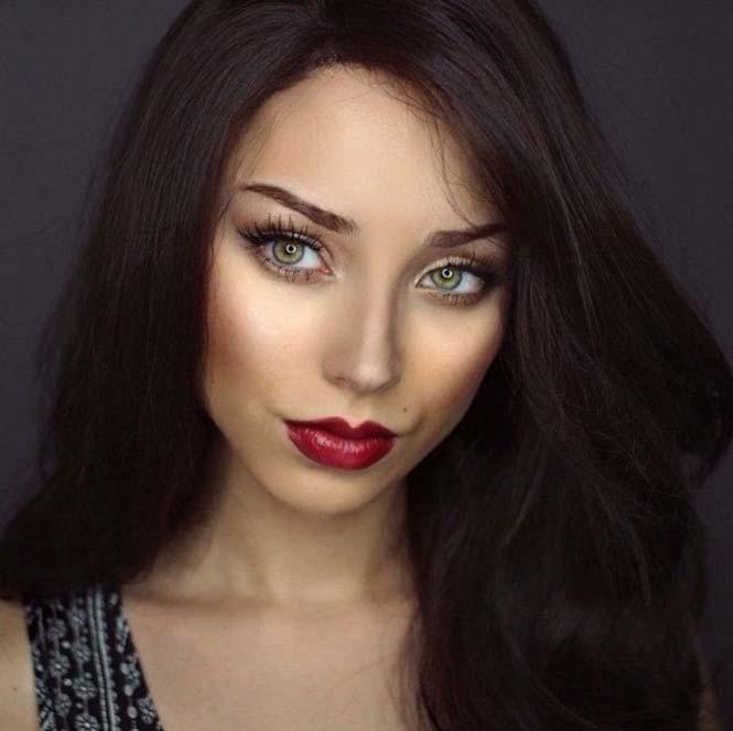 Μια όμορφη γυναίκα γίνεται αγνώριστη με 6 εντελώς διαφορετικά look (6)