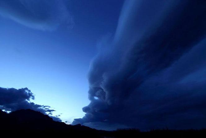 Το πρόσωπο του σύννεφου | Φωτογραφία της ημέρας