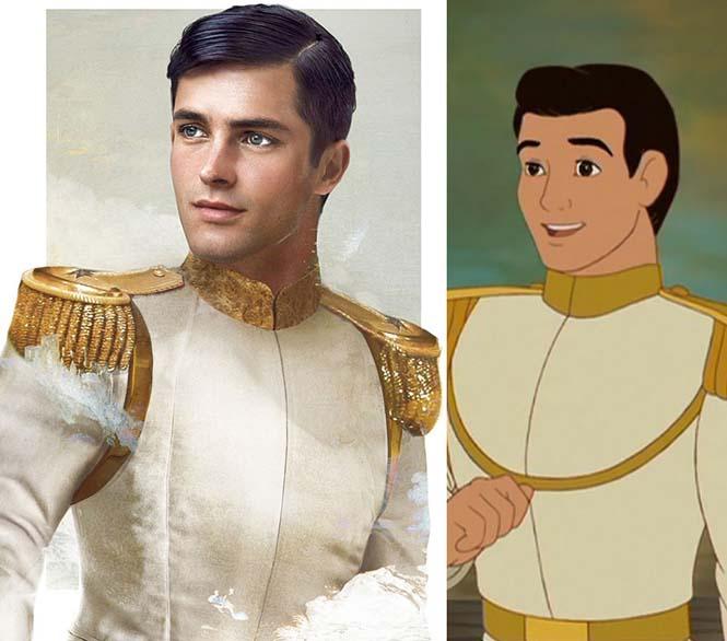 Πως θα έμοιαζαν οι πρίγκιπες της Disney στην πραγματική ζωή (2)