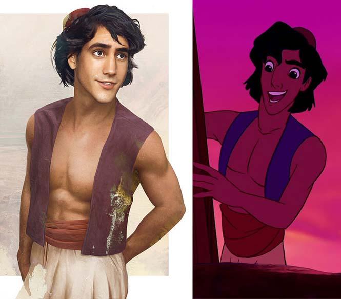 Πως θα έμοιαζαν οι πρίγκιπες της Disney στην πραγματική ζωή (3)
