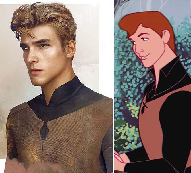 Πως θα έμοιαζαν οι πρίγκιπες της Disney στην πραγματική ζωή (6)