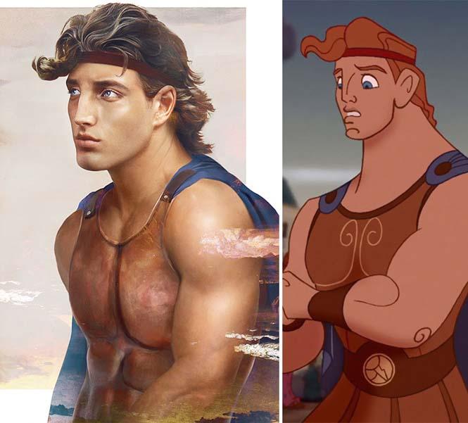 Πως θα έμοιαζαν οι πρίγκιπες της Disney στην πραγματική ζωή (8)