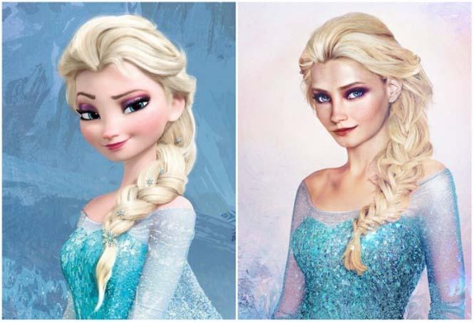 Πως θα έμοιαζαν οι πριγκίπισσες της Disney στην πραγματική ζωή (1)
