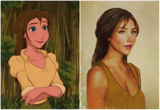 Πως θα έμοιαζαν οι πριγκίπισσες της Disney στην πραγματική ζωή (3)