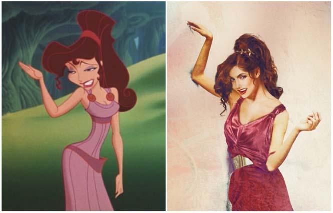 Πως θα έμοιαζαν οι πριγκίπισσες της Disney στην πραγματική ζωή (4)