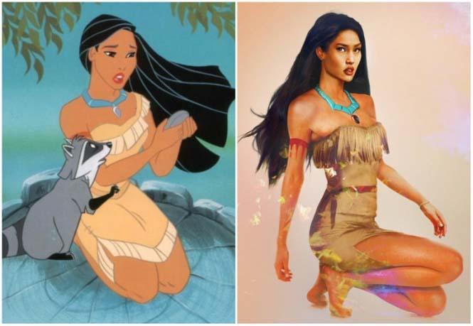 Πως θα έμοιαζαν οι πριγκίπισσες της Disney στην πραγματική ζωή (5)