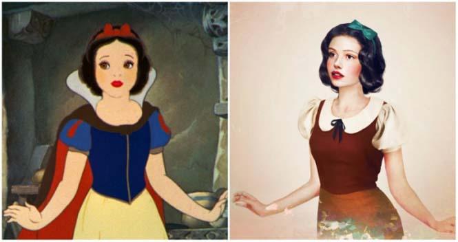 Πως θα έμοιαζαν οι πριγκίπισσες της Disney στην πραγματική ζωή (8)