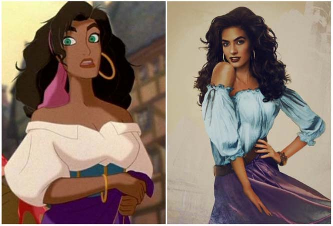 Πως θα έμοιαζαν οι πριγκίπισσες της Disney στην πραγματική ζωή (9)