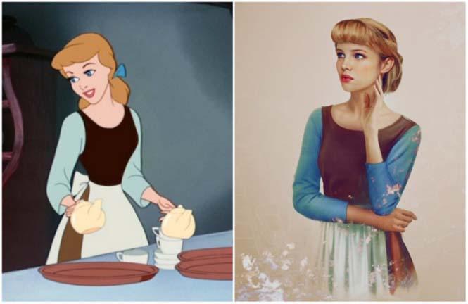 Πως θα έμοιαζαν οι πριγκίπισσες της Disney στην πραγματική ζωή (10)