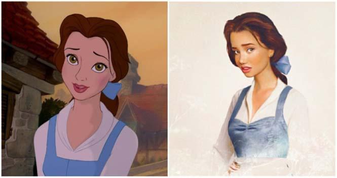 Πως θα έμοιαζαν οι πριγκίπισσες της Disney στην πραγματική ζωή (12)