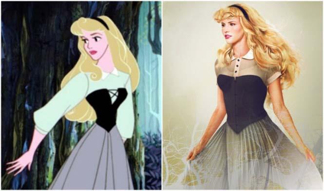 Πως θα έμοιαζαν οι πριγκίπισσες της Disney στην πραγματική ζωή (13)