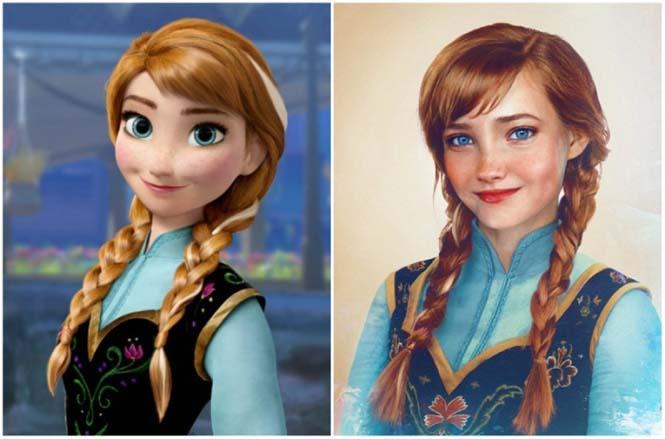 Πως θα έμοιαζαν οι πριγκίπισσες της Disney στην πραγματική ζωή (14)