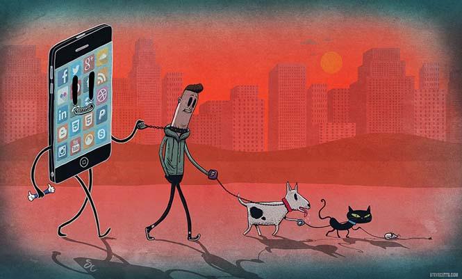 Ο σύγχρονος κόσμος μέσα από 16 θλιβερά σκίτσα που θα σας βάλουν σε σκέψεις (16)