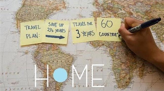 Ταξιδεύοντας σε όλο τον κόσμο για 3 χρόνια