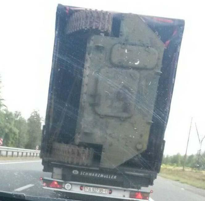 Είναι κι αυτός ένας τρόπος να μεταφέρεις ένα στρατιωτικό όχημα (3)